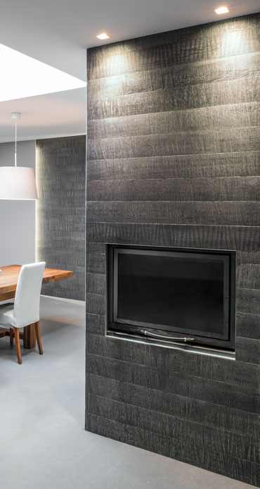 Parquet e rivestimenti in legno pareti cucine porte soffitti bagni cadorin cadorin - Rivestire parete con legno ...