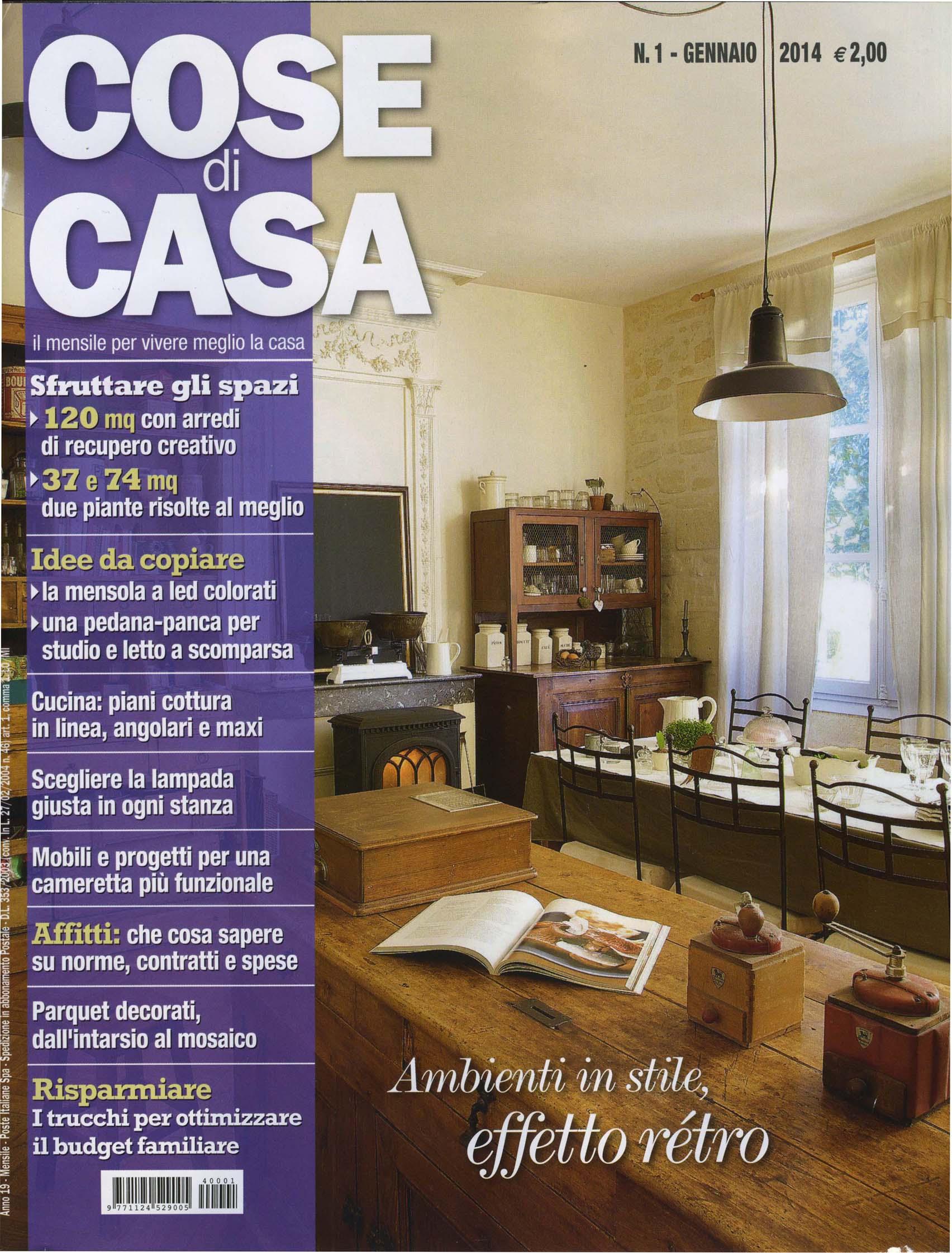 Parquet in legno su riviste arredamento gennaio 2014 cadorin for Riviste su arredamento casa