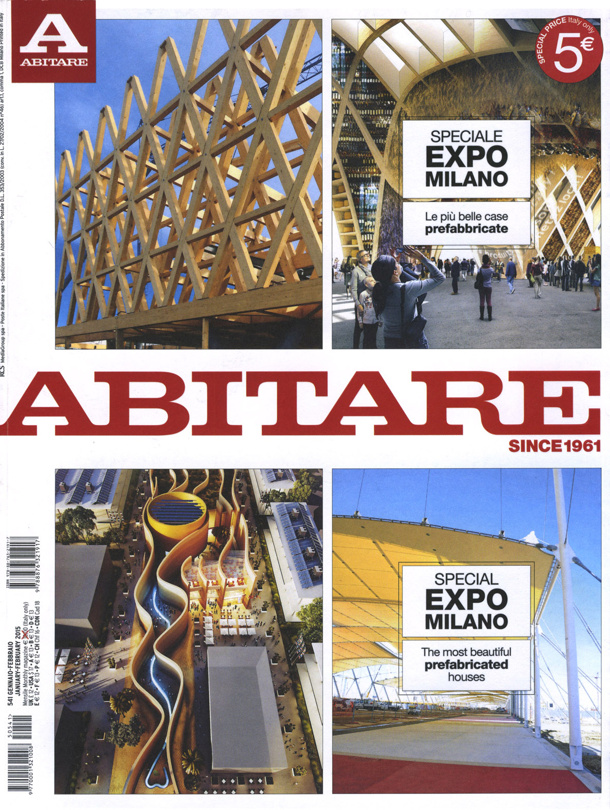 Parquet in legno su riviste arredamento gennaio 2015 cadorin - Abbonamento cose di casa ...