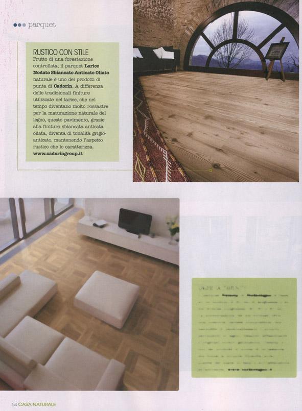 Parquet in legno su riviste arredamento novembre 2016 for Riviste su arredamento casa