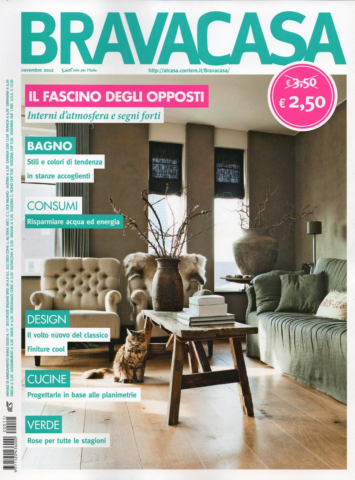 Parquet in legno su riviste arredamento novembre 2012 for Riviste su arredamento casa