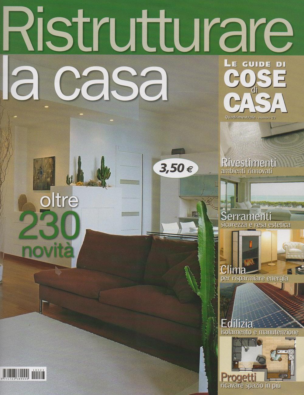 Parquet in legno su riviste arredamento ottobre 2011 cadorin for Riviste su arredamento casa