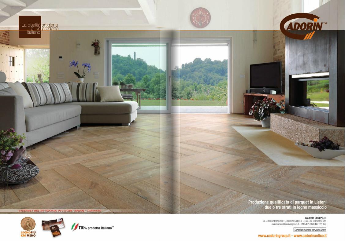 Parquet in legno su riviste arredamento settembre 2013 for Riviste su arredamento casa