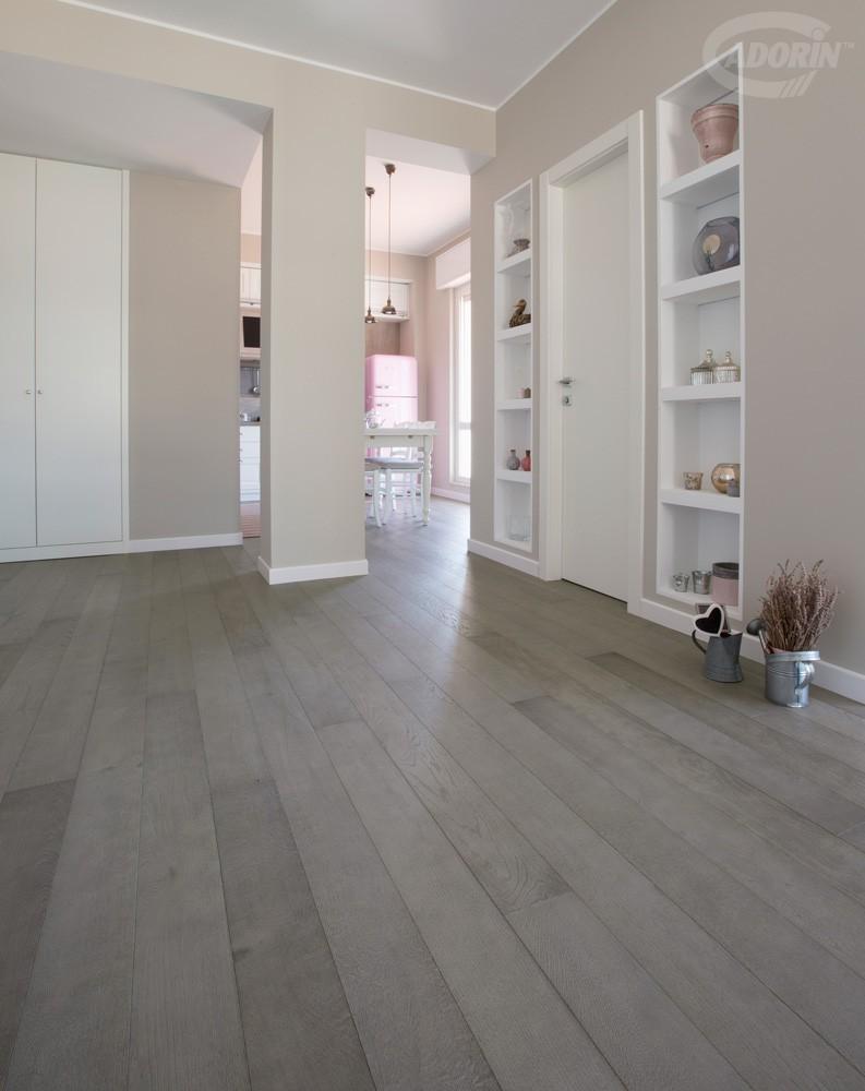 Parquet e pavimenti in rovere grigio cadorin - Incollare piastrelle su pavimento esistente ...