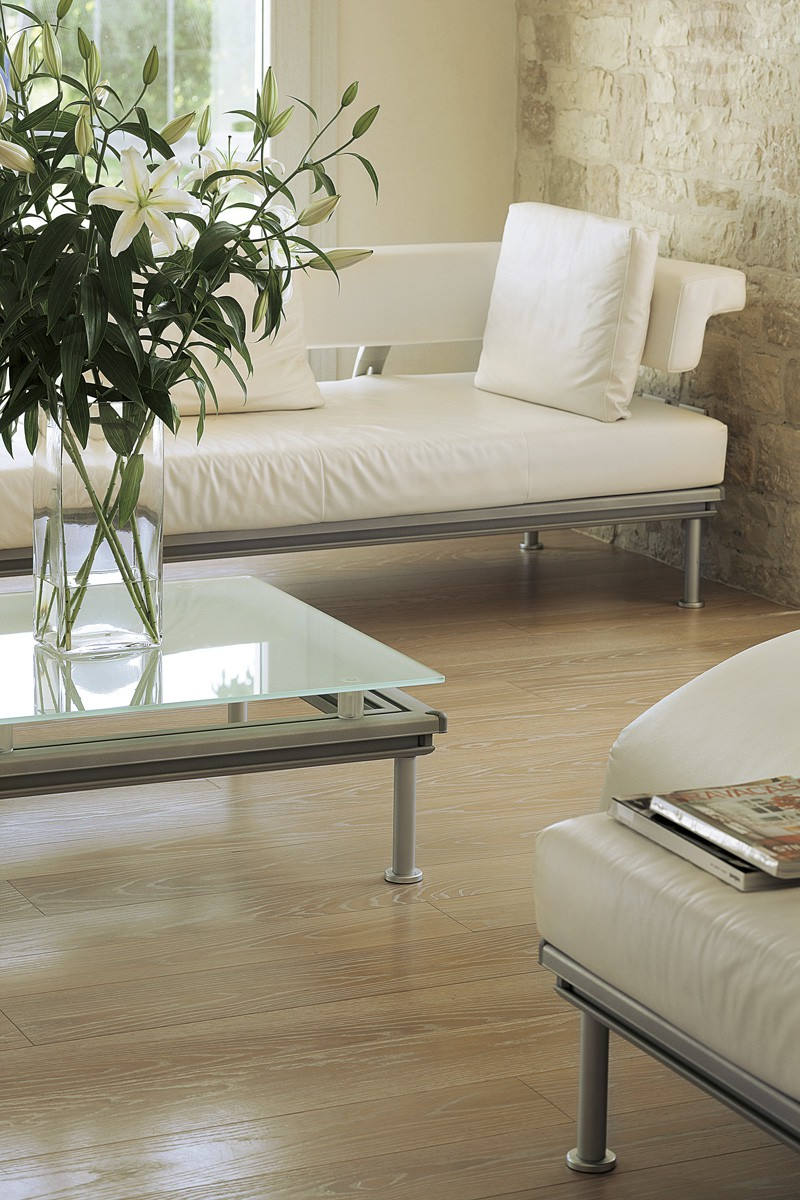 Decapé naturale - Rovere Select Europeo - Spazzolato