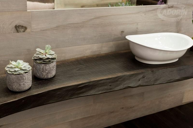 top lavabo in legno by cadorin parquet - cadorin - Top Bagno Legno
