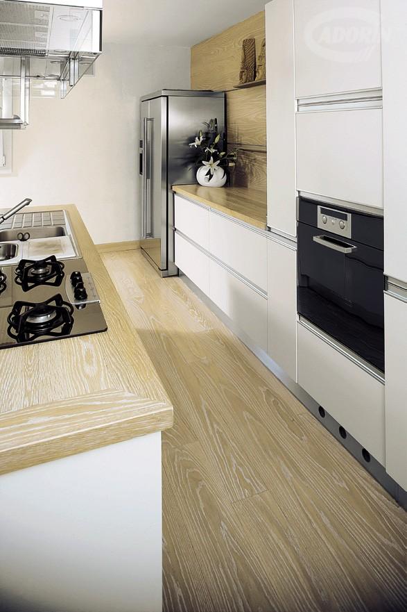 Best Parquet Rovere In Cucina Contemporary - Home Interior Ideas ...