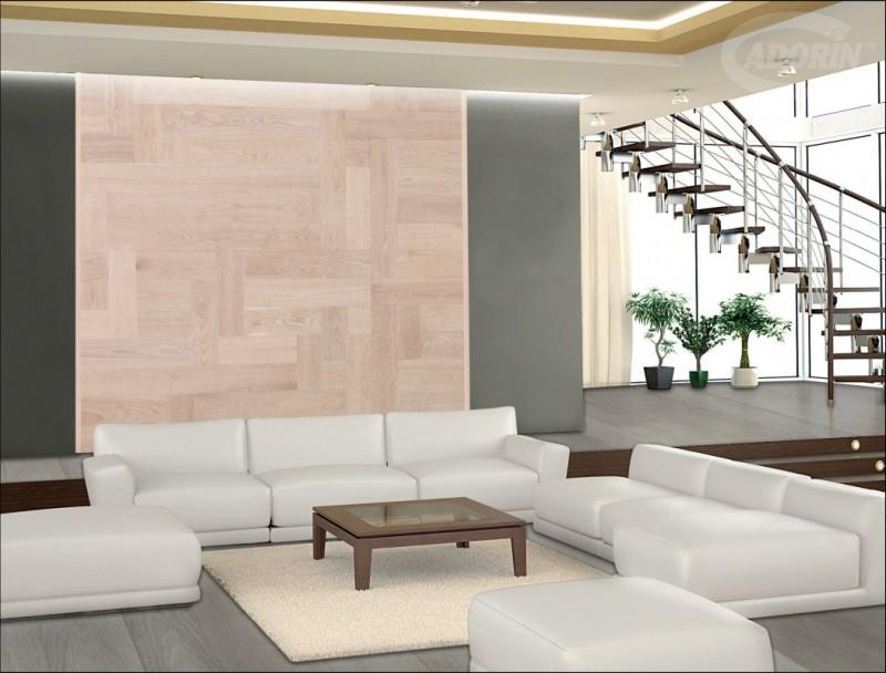 Moduli disegno a parete di listoni in legno massiccio cadorin cadorin