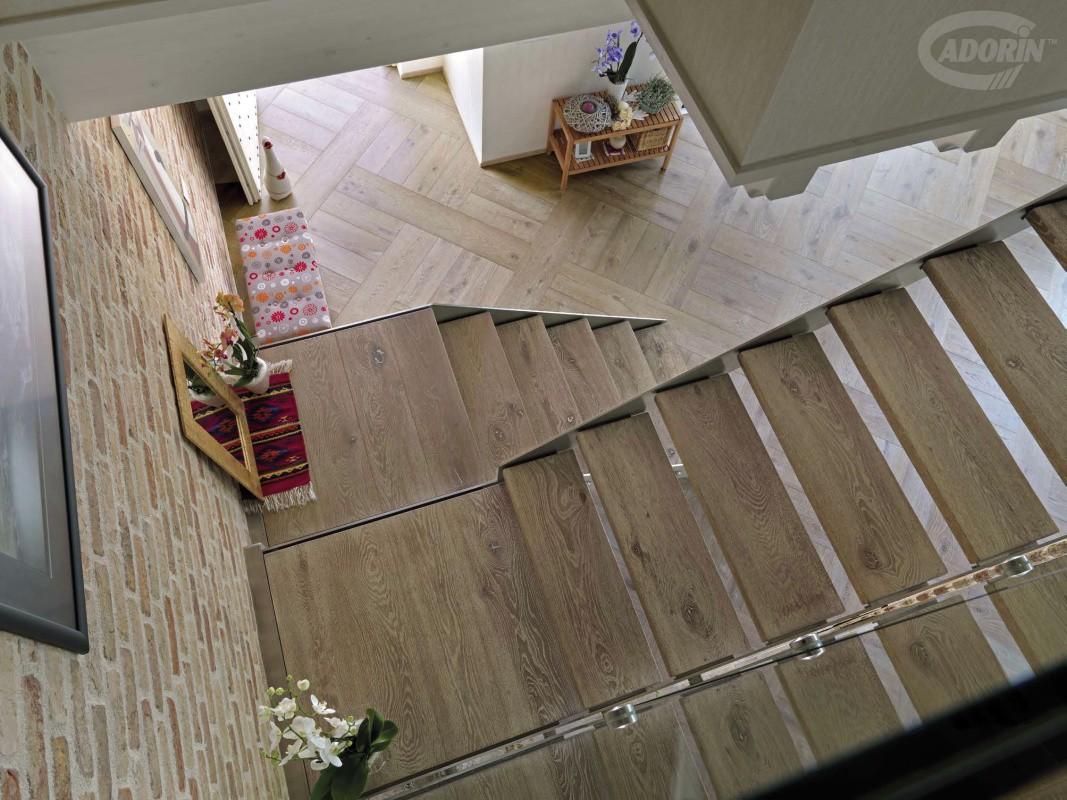 Rivestimenti in legno per scale e gradini by cadorin - Gradini in marmo per esterno ...