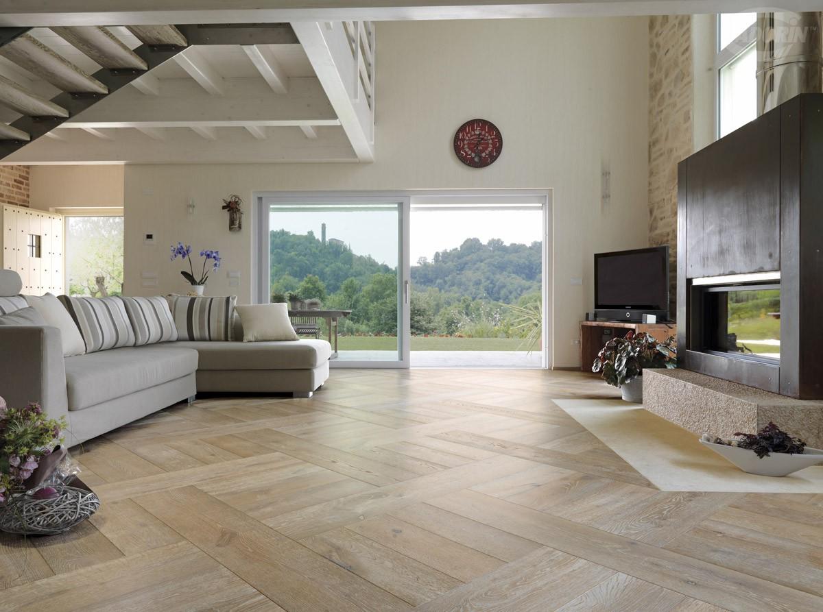 Listoni in legno quercia per pavimenti a parquet cadorin for Architetti per interni