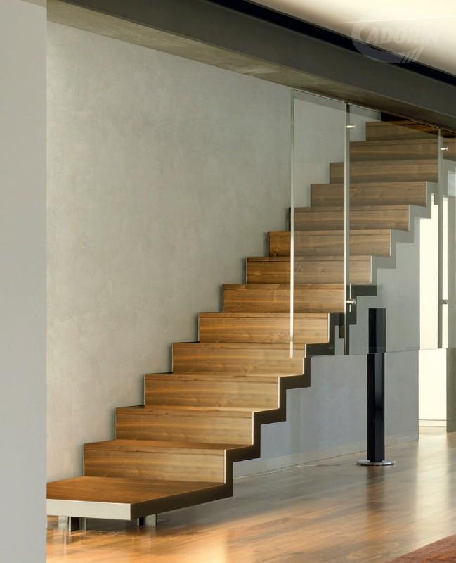 Rivestimenti in legno per scale e gradini by cadorin - Rivestimenti scale interne ...