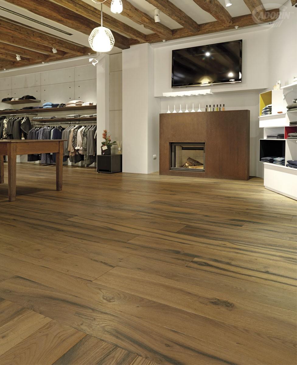 Pavimento in legno di rovere antico cadorin for Cadorin parquet