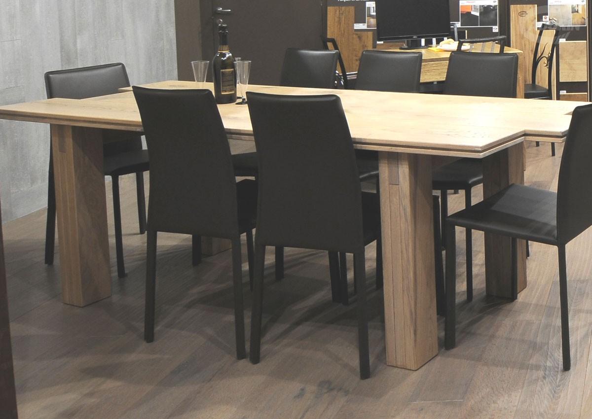 Tavolo listoni 3 strati in legno di Rovere - CADORIN