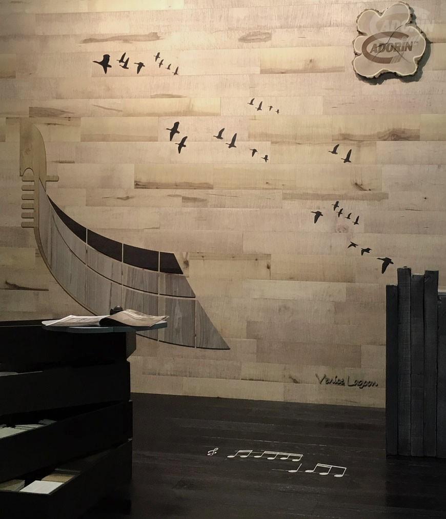 Rivestimenti a parete con decorazioni cadorin for Decorazioni a parete