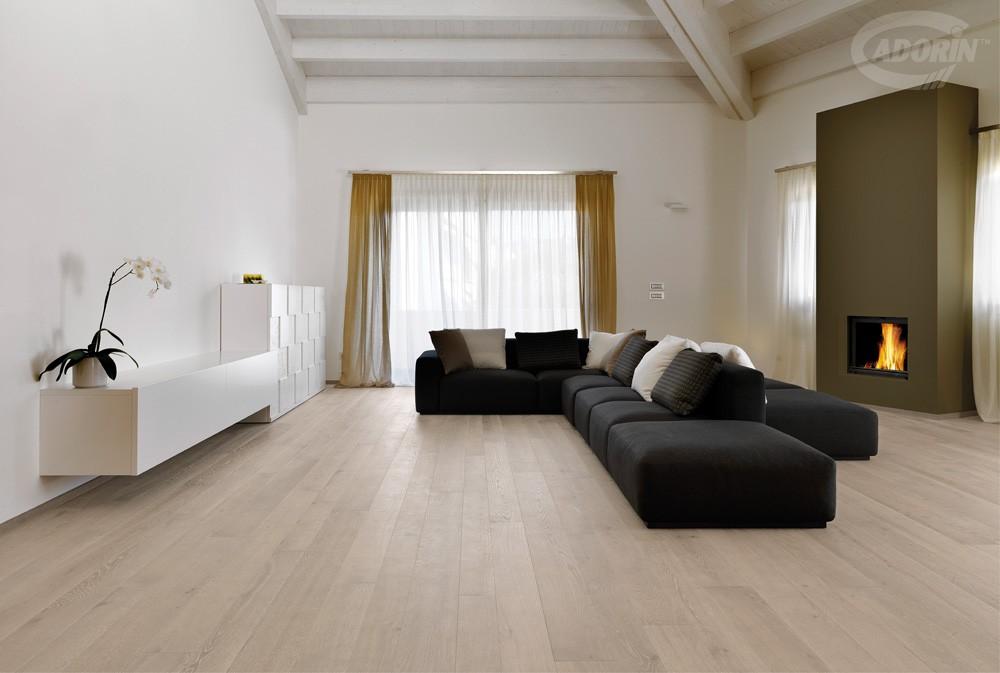 Listoni per pavimenti in legno rovere e elite cadorin for Arredamento bianco e legno