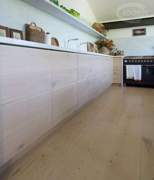 Moduli disegno a parete di listoni in legno massiccio cadorin cadorin - Rivestimento da parete cucina ...