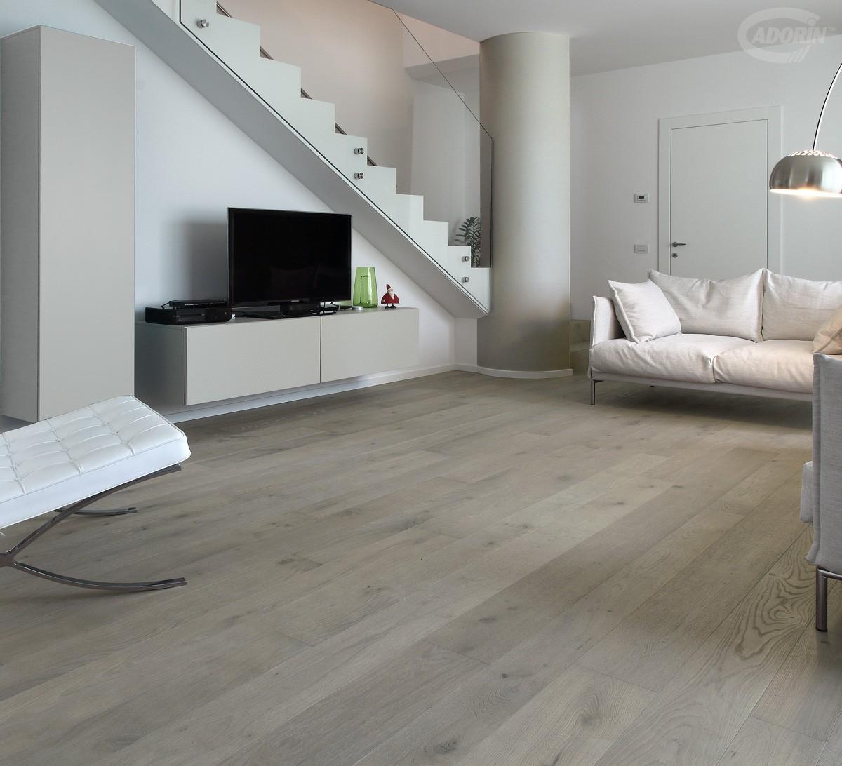 Parquet quercia europea sabbiata a listoni di legno for Cadorin parquet